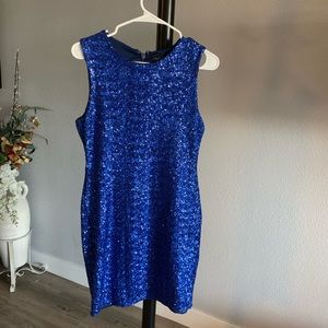 Topshop Dresses - Topshop sequined dress